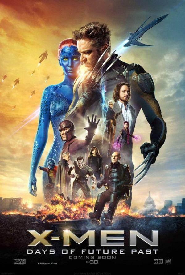 Premiere la cinema: X-men: Days of Future Past, cel mai mare film al anului, se lanseaza in cinematografe