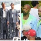 GALERIE FOTO Actorii si sosiile lor: cum arata dublurile lui Bruce Willis, Dwayne Johnson sau Brad Pitt