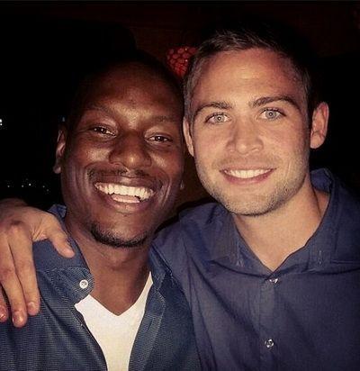 Tyrese Gibson, alaturi de fratele lui Paul Walker, intr-o imagine emotionanta:  In final, nu iti ramane decat familia