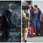 Henry Cavill impresioneaza in costumul lui Superman: primele imagini de la filmarile pentru Batman versus Superman: Dawn of Justice