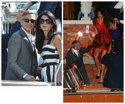George Clooney a renuntat la burlacie la 53 de ani si s-a casatorit cu Amal Alamuddin. Marile vedete de la Hollywood au fost prezente la cea mai mare nunta a finalului de an