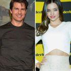 Tom Cruise are o relatie cu fotomodelul Miranda Kerr, fosta sotie a actorului Orlando Bloom. Ce scrie presa tabloida straina