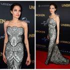 Angelina Jolie, o adevarata diva la premiera filmului ei, Unbroken: actrita a stralucit pe covorul rosu si a creat isterie in randul fanilor