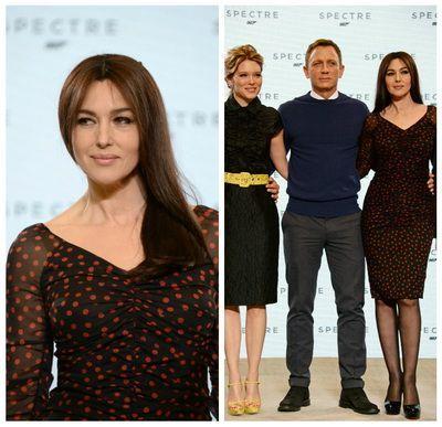Rolul pe care Monica Bellucci si l-a dorit timp de 20 de ani: la 50 de ani, este cea mai in varsta fata Bond din istoria francizei si va juca alaturi de Daniel Craig in Spectre
