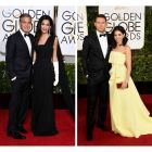 Cele mai frumoase cupluri de la Gala Globurilor de Aur: sotia lui George Clooney, supranumita  o Audrey Hepburn moderna . Vezi galerie foto