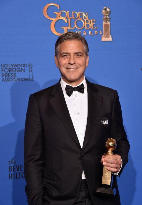 George Clooney, onorat pentru intreaga cariera la Globurile de Aur. Actorul i-a multumit sotiei sale:  Sunt mandru sa fiu sotul tau