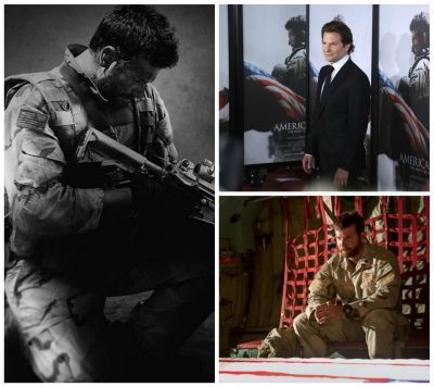 OSCAR 2015. Bradley Cooper si sacrificiile facute pentru rolul din  American Sniper . 8000 de calorii consumate pe zi, antrenamente cu un soldat in trupele SEALs si o transformare fizica la limita