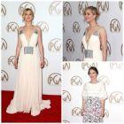Cele mai frumoase imagini de la Gala PGA: Jennifer Lawrence, prima aparitie pe covorul rosu, dupa cateva luni