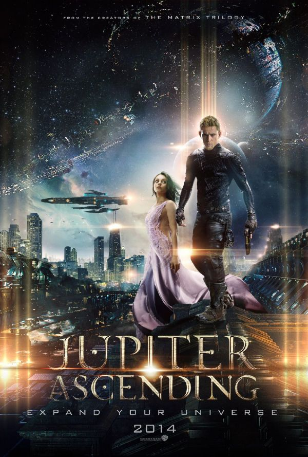 Jupiter Ascending, un spectacol vizual, dar o poveste dezamagitoare