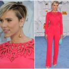 MTV Movie Awards 2015: cele mai spectaculoase imagini de pe covorul rosu. Scarlett Johansson a impresionat cu aparitie de neuitat