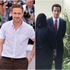 Ryan Gosling, de nerecunoscut pe platourile noului sau film, The Big Short, productia despre prabusirea economica in care mai joaca Brad Pitt si Christian Bale