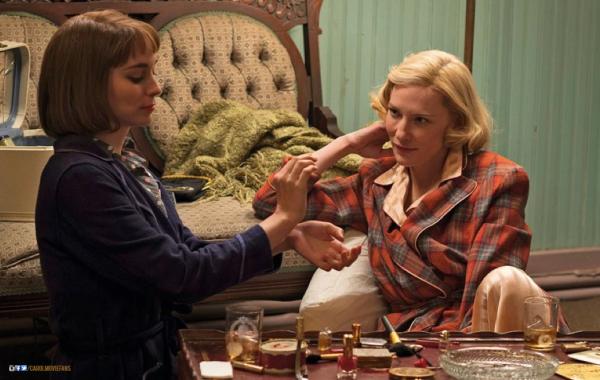 Avalansa de vedete la festivalul de film de la Londra. Criticii, incantati de  Carol , filmul in care Cate Blanchett se indragosteste de o vanzatoare