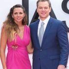 Noul film din seria Bourne a avut premiera in Londra. Sotia lui Matt Damon a atras toate privirile
