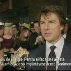 Este minunat . Mesajul lui Tom Cruise pentru fanii prezenti la o proiectie in scopuri caritabile a filmului Jack Reacher
