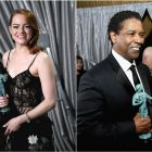 Premiile SAG.  Hidden Figures  a primit trofeul serii, Denzel Washington si Emma Stone, actorii invingatori.  Cred ca o sa lesin