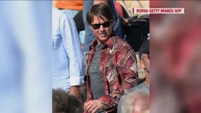 """Tom Cruise se afla la Paris pentru a turna episodul 6 din """"Misiune Imposibila"""". Cursele nebune cu masini si elicoptere"""