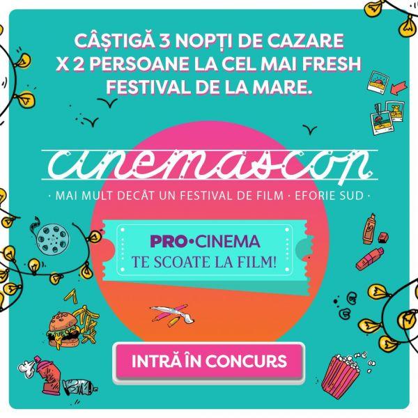CONCURS: PRO CINEMA te trimite la mare! Descrie filmul tău preferat în cel mai creativ mod și poți câștiga 3 nopți la mare!