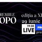 Gala Premiilor GOPO se vede live pe PROTVPLUS.RO