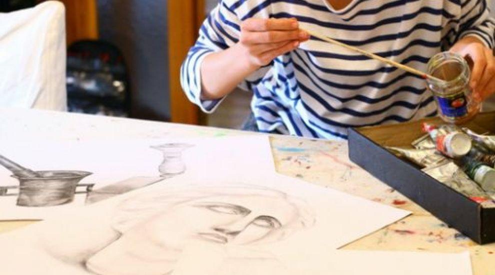 Dana Rogoz – pictorita in timpul liber