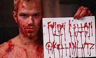 Kellan Lutz, Emmett Cullen din Saga Amurg, insangerat pe Twitter