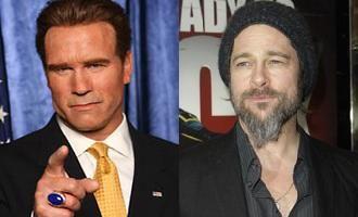 Brad Pitt si Arnold Schwarzenegger vor Campionatul Mondial de Fotbal in Statele Unite - in 2018 sau 2022!