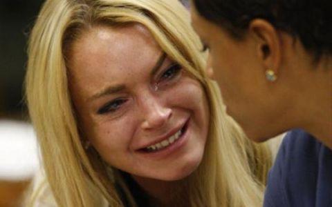Lindsay Lohan condamnata la 90 de zile de inchisoare FOTO