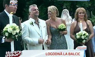 La Happy Hour, imagini IN EXCLUSIVITATE de la logodna Iulianei Marciuc cu Adrian Enache