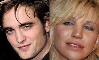 "Robert Pattinson catre Courtney Love: ""Idioato!"""