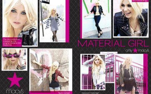 Madonna, fotograf de moda pentru Taylor Momsen FOTO si VIDEO