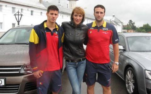 Alex Popoviciu si Dragos Boca, jucatori in lotul national de polo, la ProMotor FOTO