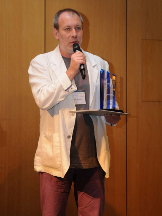 Florin Busuioc a primit la Zurich premiul pentru cel mai bun prezentator meteo al anului FOTO