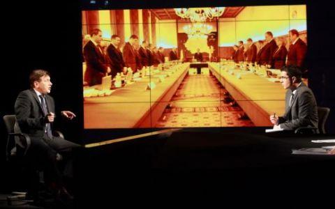 """Presedintele PNL, Crin Antonescu, invitat la """"Dupa 20 de ani"""": """"Guvernul Boc nu este capabil sa guverneze"""" FOTO"""