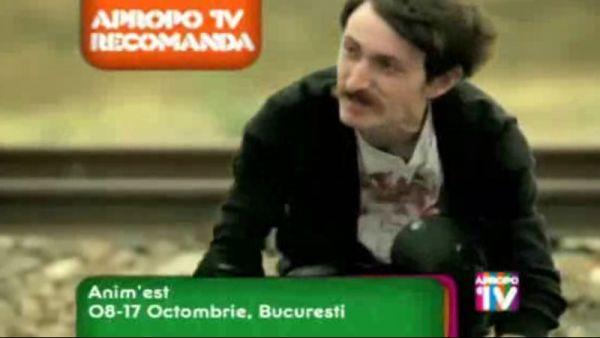 Apropo Tv recomanda: Anim\'est, 8 - 17 octombrie, Bucuresti