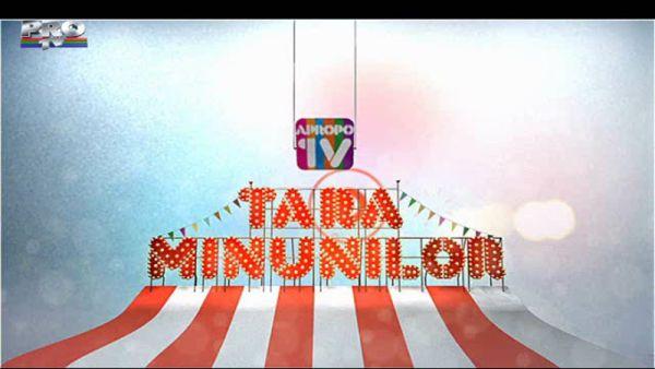 Tara Minunilor, la Apropo Tv (21 noiembrie)