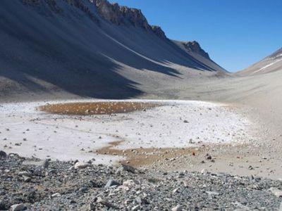 Lacul Don Juan - Antarctica