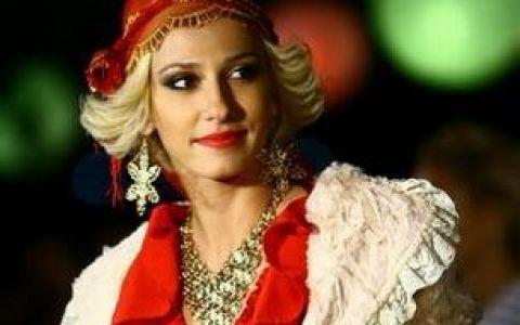 Dana Rogoz a imbracat pentru prima oara rochia de mireasa in serialul  Mostenirea  VIDEO si FOTO!