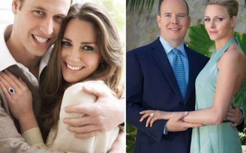 Ce au in comun nuntile printilor William si Albert de Monaco?