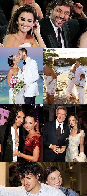 11 cupluri de celebritati care si-au unit destinele in anul 2010