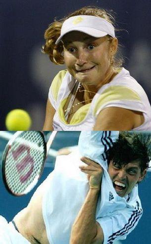 20 de feţe ciudate, si-o mumie... Imaginile care au speriat tenisul!
