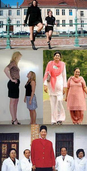 datând o femeie înaltă)