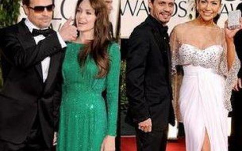 Vezi cele mai dragute cupluri prezente la  Globurile de Aur 2011  GALERIE FOTO