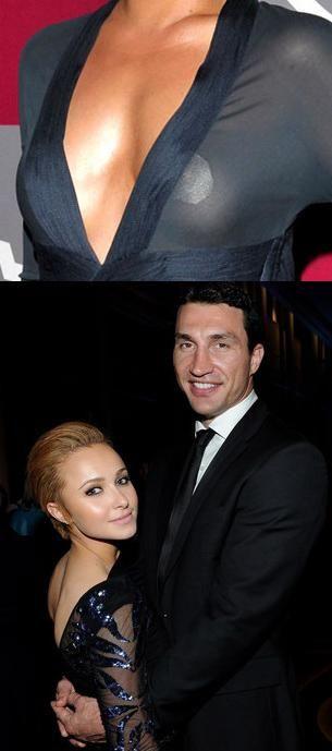 Hayden Panettiere, iubita lui Vladimir Klitschko, si-a acoperit sfarcurile cu plasturi FOTO