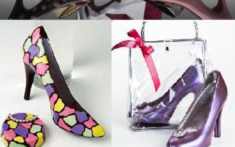 Pantofii din ciocolata: cadoul perfect pentru orice femeie! FOTO