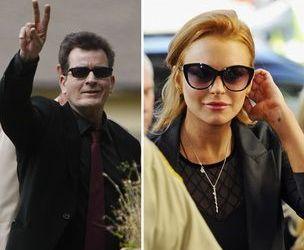 Lindsay Lohan, ingrijorata de soarta lui Charlie Sheen!