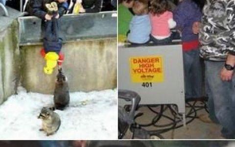 Parinti inconstienti! = Copii in pericol! FOTO