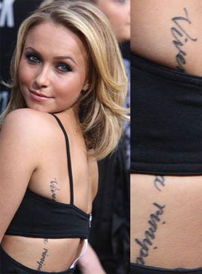 Ghiceste al cui este tatuajul! UPDATE! Raspunsul corect: Hayden Panettiere