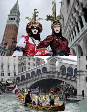 Carnavalul de la Venetia - mister, culoare si magie! FOTO