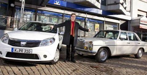 Ce AROGANTA! Nemtii compara Dacia cu un Mercedes din 1970!