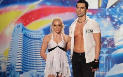 Alina si Bogdan de la AcroMystic:  Noi credem in talentul nostru