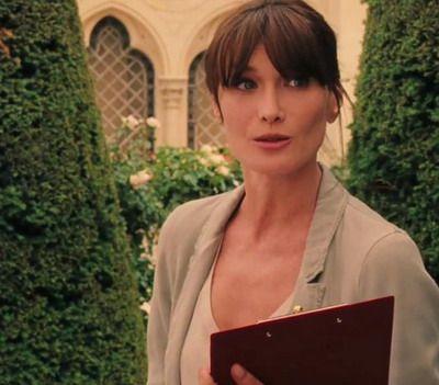VIDEO Primele imagini cu sexy Carla Bruni, nevasta lui Sarkozy, in filmul lui Woody Allen,  Midnight in Paris